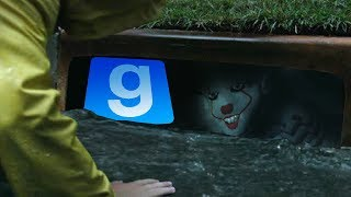 Gmod SCARY PENNYWISE IT Mod! Pennywise The Clown (Garry's Mod IT 2017)