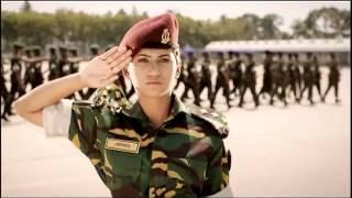 Muslim Woman Army in Bangladesh Army