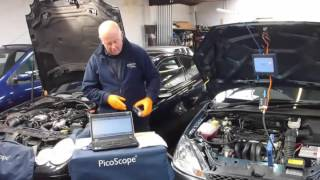 Non-intrusive crank case pressure test using the WPS500 via dipstick tube