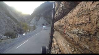 DANGEROUS ROAD EXTRÊME TRUCK DRIVERS MERCEDES ACTROS V8