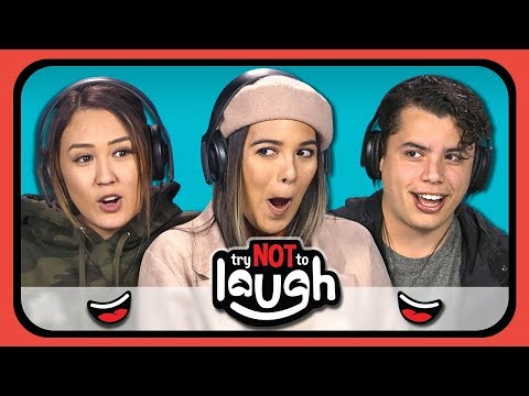 YouTubers React to Try to Watch This Without Laughing or Grinning 14