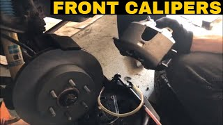 Dodge Dakota/Durango Front Brake Caliper Replacement Video