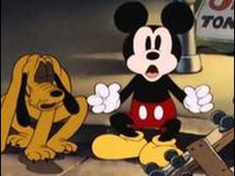 Exposicion canina MICKEY MOUSE Y PLUTO Dibujos animados vijos cortos de Disney en espanol latino