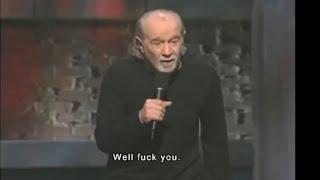 George Carlin Saw 9/11 Coming (Subtitled)