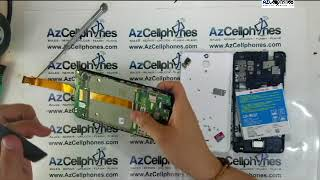 Alcatel Pixi 4 Battery, Motherboard And Charging Port Removal