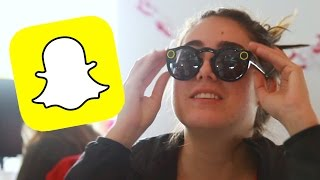 People Try The New Snapchat Glasses