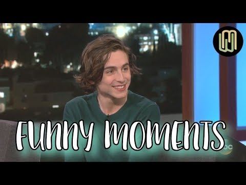 Timothée Chalamet Funny and Cute Moments