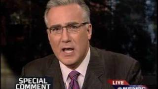 Keith Olbermann Special Comment: It's Palin Doing The Terrorist Pallin'