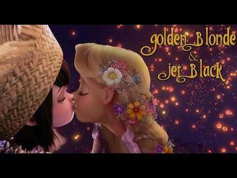 Golden Blond and Jet Black FEMSLASH