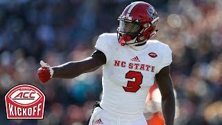 NC State Receivers: Best In Nation? | 2018 ACC Kickoff