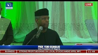 Osinbajo On Innovations Boosting Education,Health,Youth Development,Welcomes Partnerships Pt.2