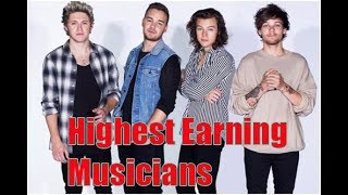 10 Highest Earning Musicians in the World | Amazing Top 10
