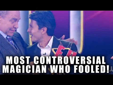 PENN AND TELLER MOST CONTROVERSIAL MAGICIAN WHO FOOLED