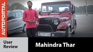 Mahindra Thar - User Review