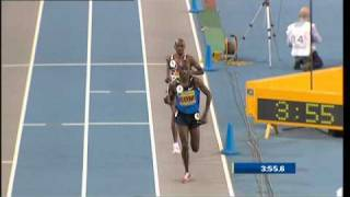 Mo Farah 3000m Indoor British Record 7:40.99 - Glasgow 2009 [HQ]
