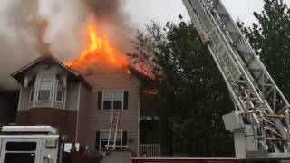 Video Captures Flames At Murfreesboro Apartment Complex