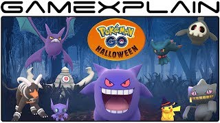Pokémon Go - Halloween Event 2017 Announced + Gen 3 Ghost Pokémon