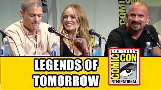 DC's Legends of Tomorrow Comic Con Panel - Caity Lotz, Wentworth Miller, Brandon Routh, Ciara Renee