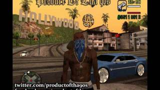 GTA San Andreas Theme Instrumental G-Funk Version # 2 [ FL Studio Remake ]
