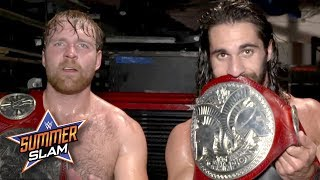 "Dean Ambrose & Seth Rollins ""own tag team wrestling"": Exclusive, Aug. 20, 2017"