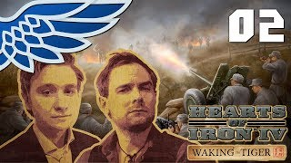 HEARTS OF IRON IV WAKING THE TIGER MULTIPLAYER | IRAN IN THE WRONG WAY PART 2 - Let