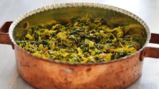 طرز تهیه نرگسی اسفناج غذای سنتی و اصیل ایرانی| Nargesi, Persian Spinach Traditional Dish