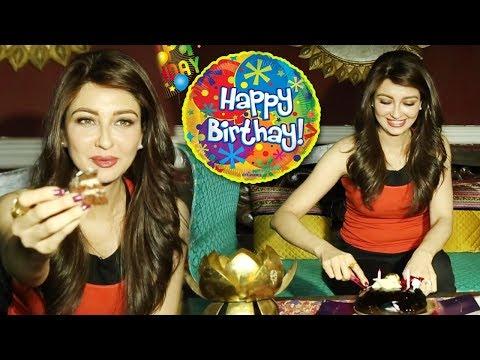 Xxx Mp4 Saumya Tandon Celebrates Her Birthday With Telly Reporter Exclusive 3gp Sex