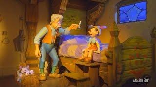[4K] Tokyo Disneyland Pinocchio Ride - Pinocchio