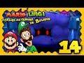 MARIO & LUIGI VOYAGE AU CENTRE DE BOWSER 3DS #14 - LE POUVOIR DE L'ASTRE NOIR... !