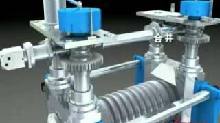 housingless rolling mill animation video.avi