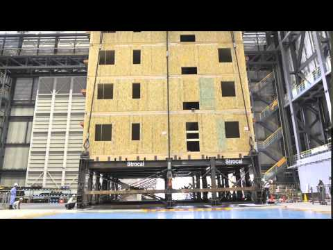 World s Largest Earthquake Test