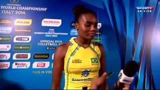 CHINA X BRASIL - Mundial de Vôlei Feminino 2014 - 2ª FASE