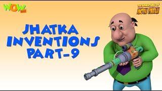 Doctor Jhatka Invention - Part 9 - Motu Patlu Compilation As seen on Nickelodeon