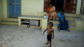 Yuvi playing Cricket