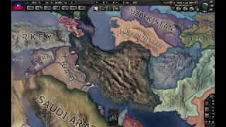 IRAQ VS IRAN WAR | HoI4