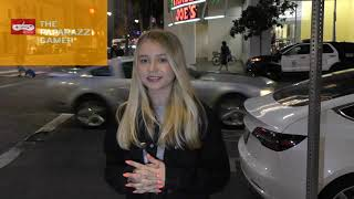 Haley Sullivan talks about her singing career and upcoming music outside Katsuya in Hollywood