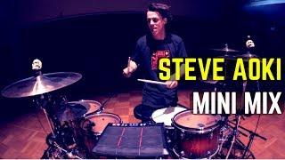 Steve Aoki - Mini Mix - Drum Cover