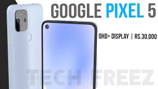 Google Pixel 5 Price & Specification in India, Android 11