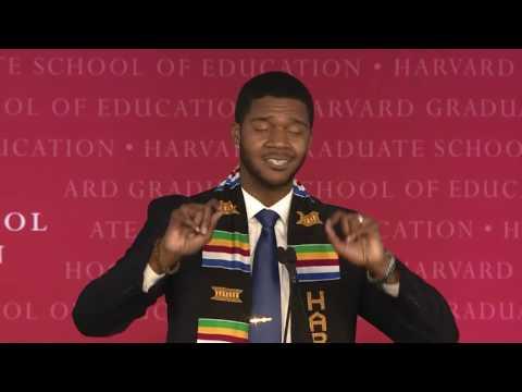 Donovan Livingston's Harvard Graduate School of Education Student Speech
