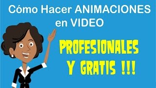 Como Hacer Video Marketing Animado GRATIS (en español)