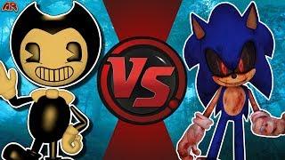 BENDY vs SONIC.EXE (Bendy and The Ink Machine vs CreepyPasta) CFC Bonus Episode 33
