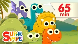 10 Little Dinosaurs + More | Kids Songs | Super Simple Songs
