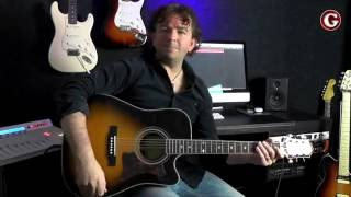 How to play 'See you Again' by Charlie Puth on acoustic guitar - Guitar Couch Lessons