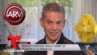 Rodner Figueroa revela cuál es su próximo proyecto | Al Rojo Vivo | Telemundo