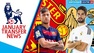 Premier League Transfer News : Neymar and Isco to Manchester?