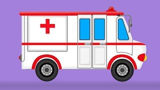 Ambulance | Uses Formation And Uses | Videos For Kids | Heavy Vehicles For Children