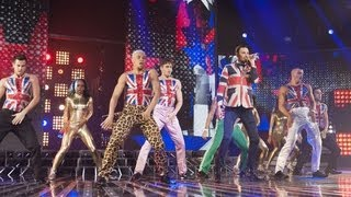 Rylan Clark sings a Spice Girls Medley - Live Week 6 - The X Factor UK 2012