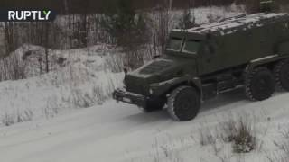 New 12-ton 'Patrol' truck devours snowy offroad during Russian military tests