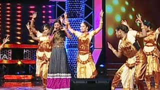 Anjana Singing - Kavithai Kelungal from the movie Punnagai Mannan in Super Star Junior- 5