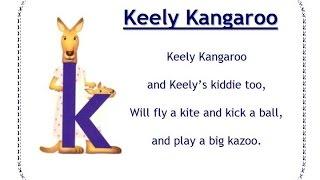 Alphafriends: Keely Kangaroo
